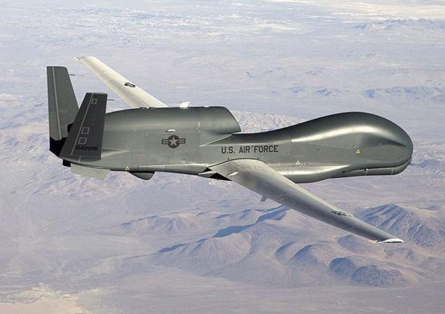 美國空軍RQ-4B-40全球鷹戰略無人機