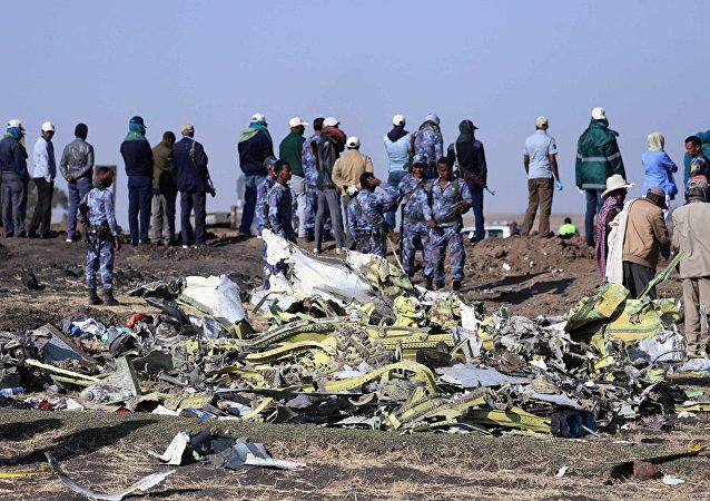 埃航公司:埃塞俄比亞航空失事航班兩個黑匣子被找到