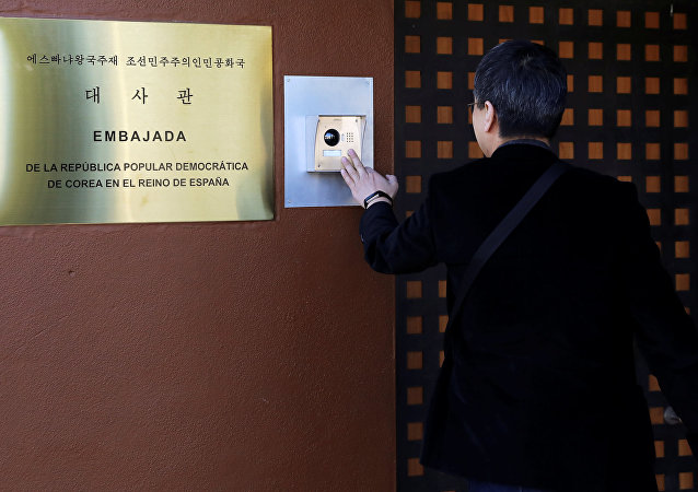 朝鮮駐西班牙大使館
