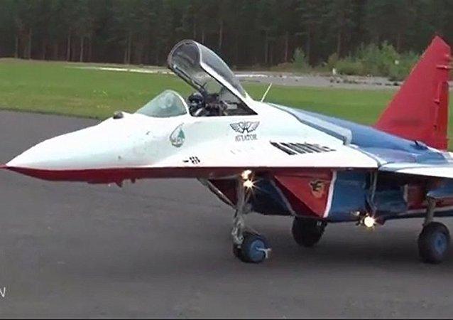 小而勇猛:米格-29模型还原真飞机