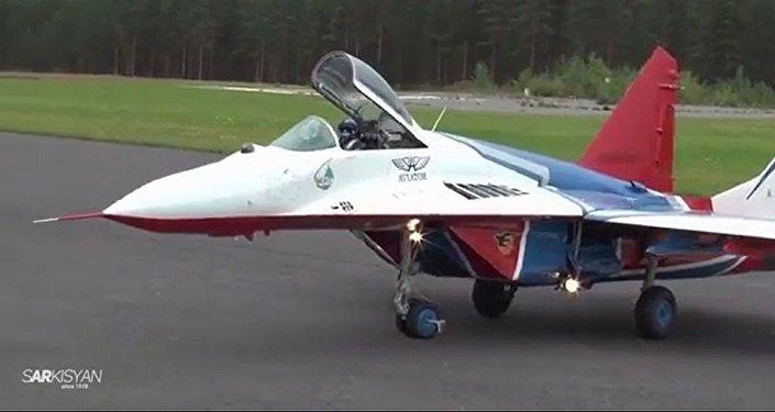 小而勇猛:米格-29模型還原真飛機