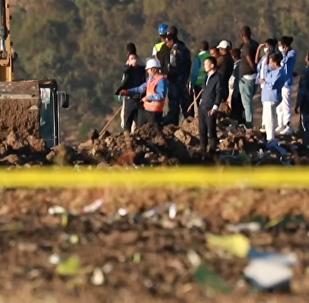 埃塞俄比亚航空客机坠毁