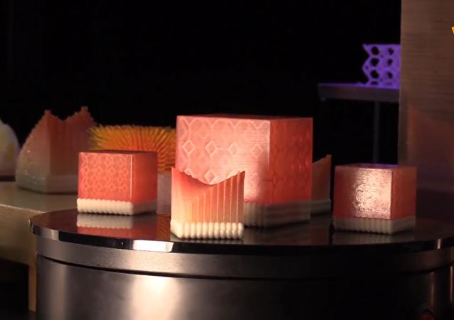日本一公司推出3D打印寿司