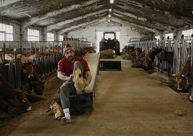 牛棚里的輪滑公園