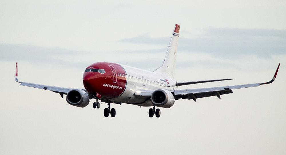 挪威航空的波音737 MAX客机返回斯德哥尔摩