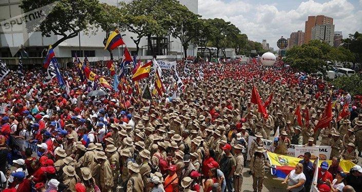 加拉加斯 ,示威