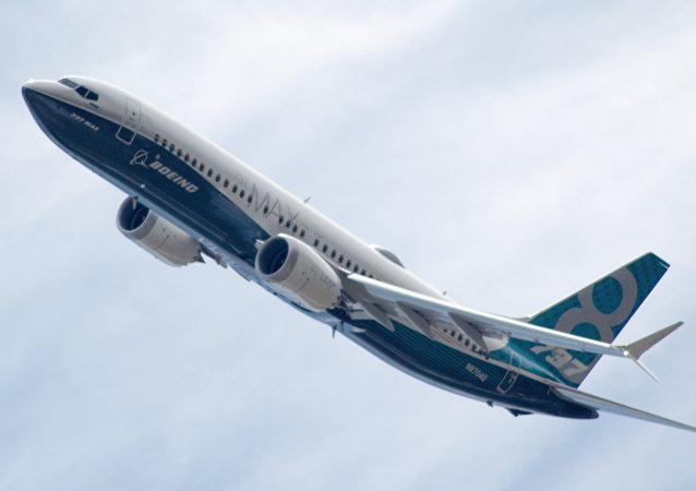 B737MAX8飞机