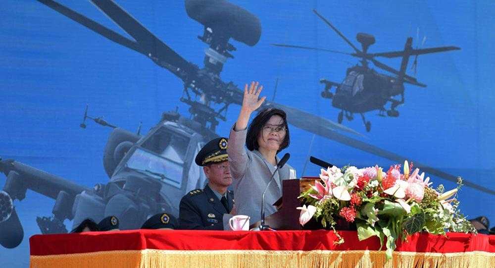 台湾领导人蔡英文