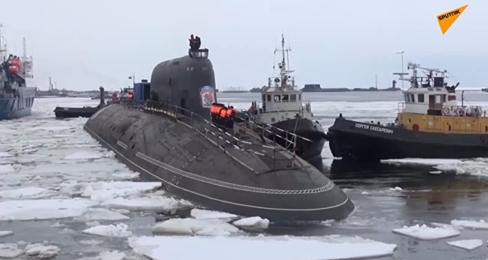 「弗拉基米爾大公」號和「喀山」號潛艇