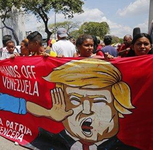 玻利維亞總統:美國干涉委內瑞拉事務表明其希望重返拉美