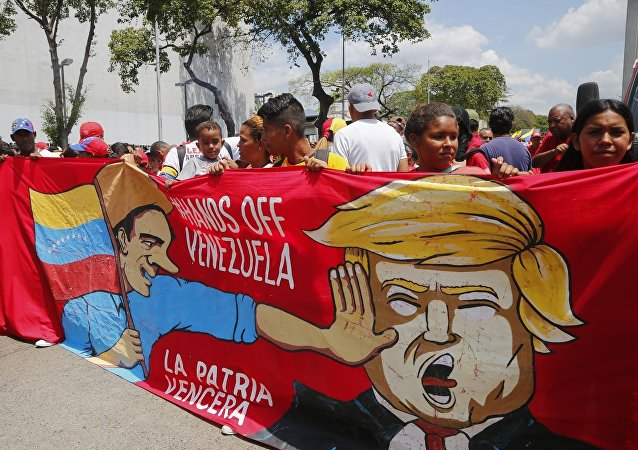馬杜羅:美國正對委內瑞拉實施非傳統的經濟戰