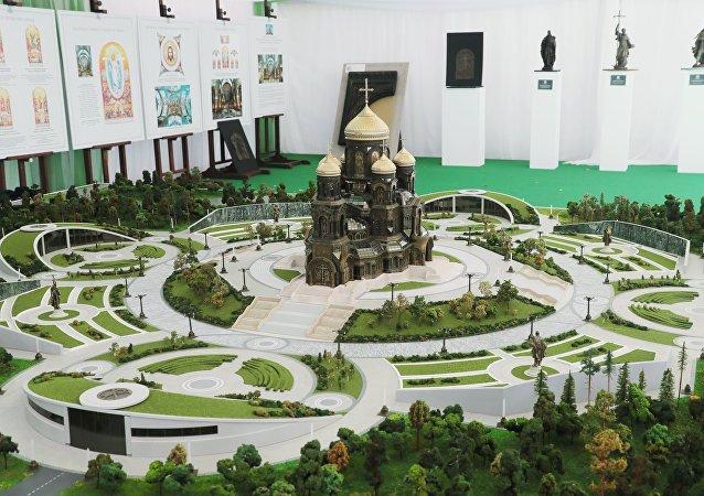 俄军主要教堂(设计图)