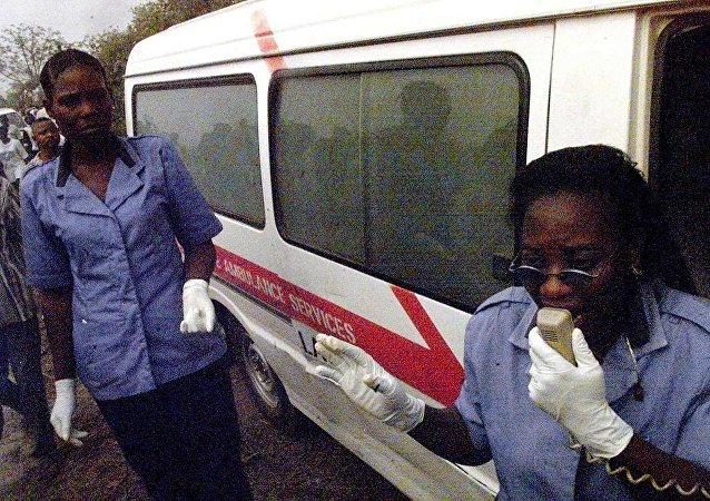尼日利亚救护车(资料图片)