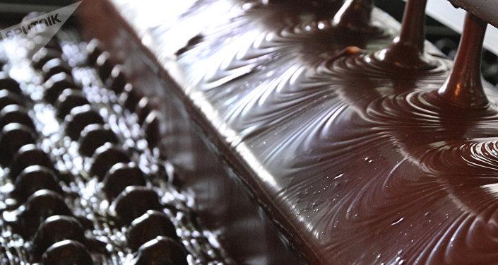 巧克力生产车间
