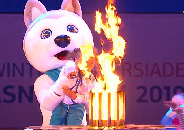 大运会闭幕式在克拉斯诺亚尔斯克举行