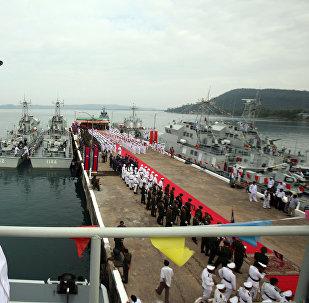"""专家:""""金龙""""联合军演能增加中国在中美地缘政治对峙中的筹码"""