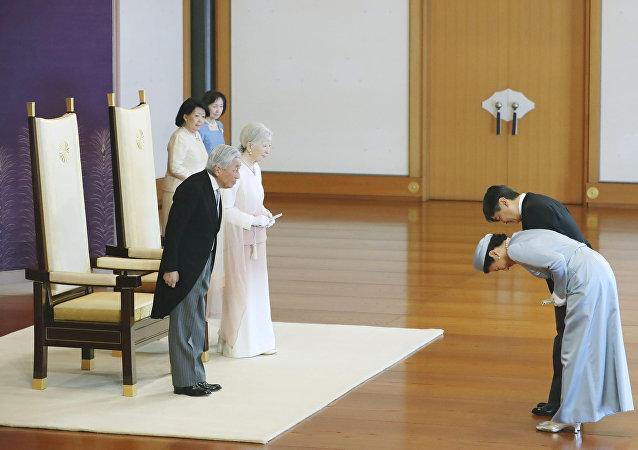 日本驻俄大使馆:日本邀请普京参加10月新天皇即位仪式