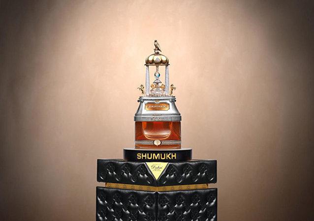 世界上最昂貴的香水在迪拜亮相