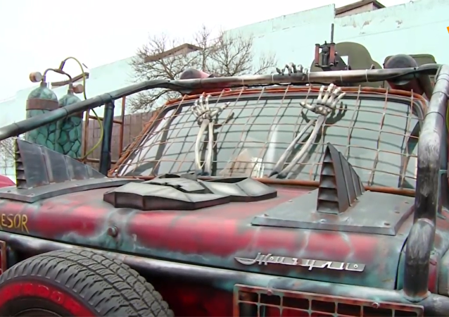 克拉斯诺达尔出现电影《迷雾追魂手》里的汽车