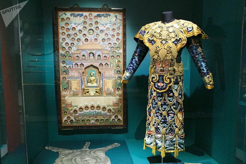 清乾隆年间(1736-1796)的佛教法衣