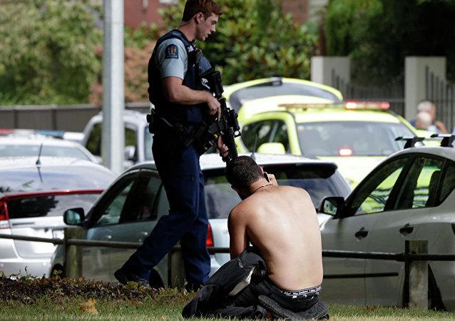 新西兰警方在枪击事件后已排除数枚自制炸弹
