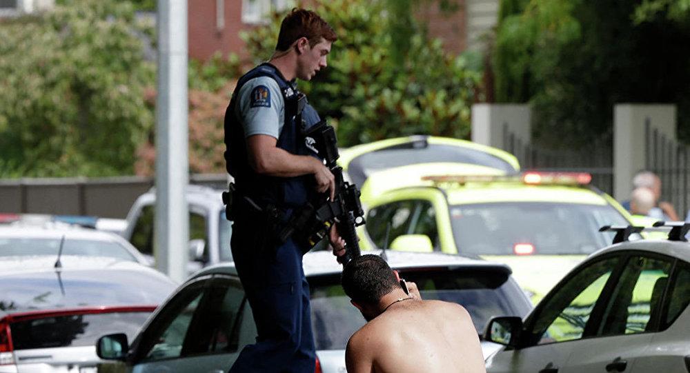 新西蘭警方在槍擊事件後已排除數枚自制炸彈