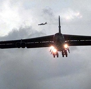 美国战略轰炸机B-52