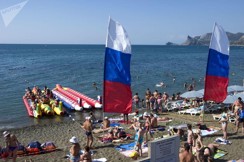 蘇達克的海灘