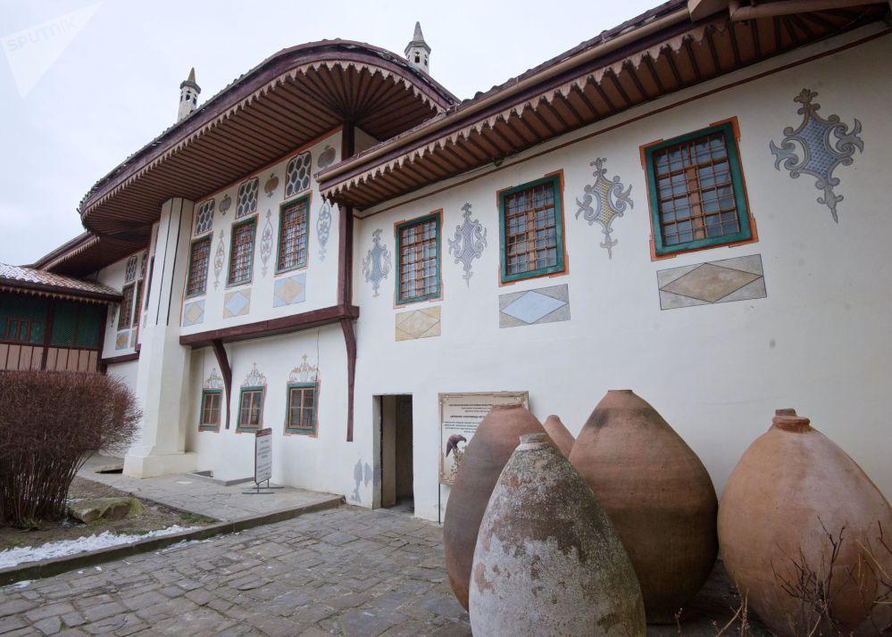 巴赫奇薩賴汗宮的修復工作