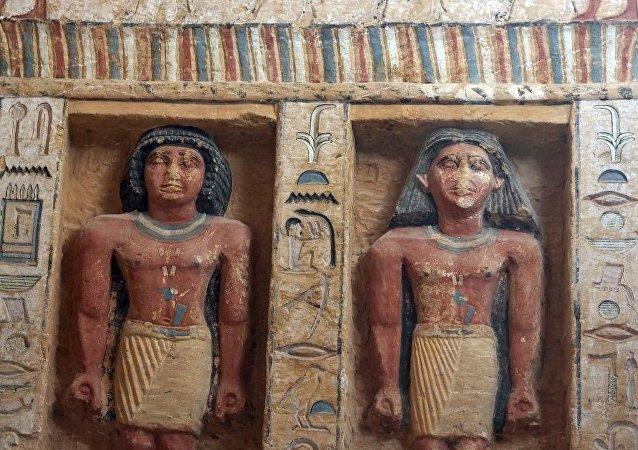 美国科学家揭开埃及雕像鼻子破碎的秘密