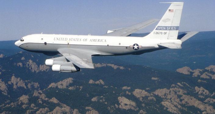 美国空军波音OC-135B观察飞机