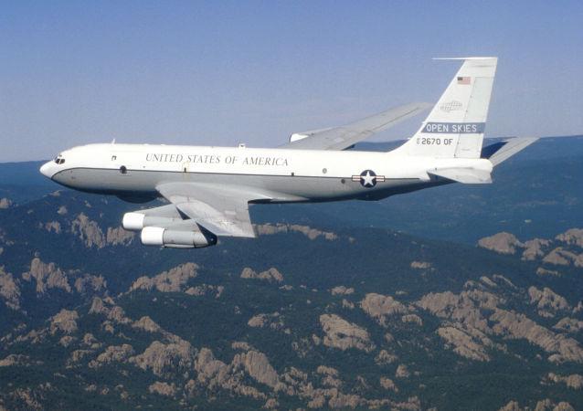 美國空軍波音OC-135B觀察飛機