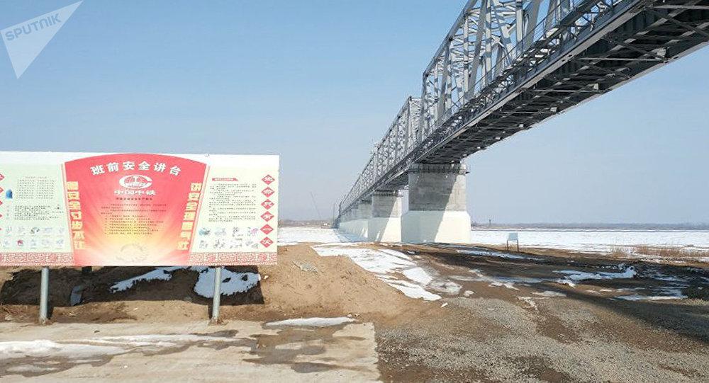同江中俄鐵路大橋