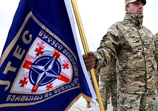 北约在格鲁吉亚的军事演习