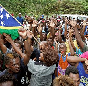 外媒:中国与所罗门群岛开始积极合作