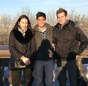 克謝尼婭與加拿大客人