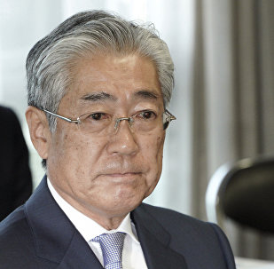 日本奧委會主席竹田恆和