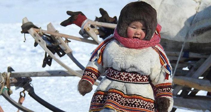 涅涅茨姑娘·涅涅茨人是俄羅斯北部地區的少數民族之一