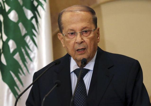 黎巴嫩總統:黎巴嫩爭取在俄美中三國之間尋求平衡