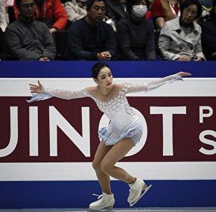 韓國運動員林恩讐