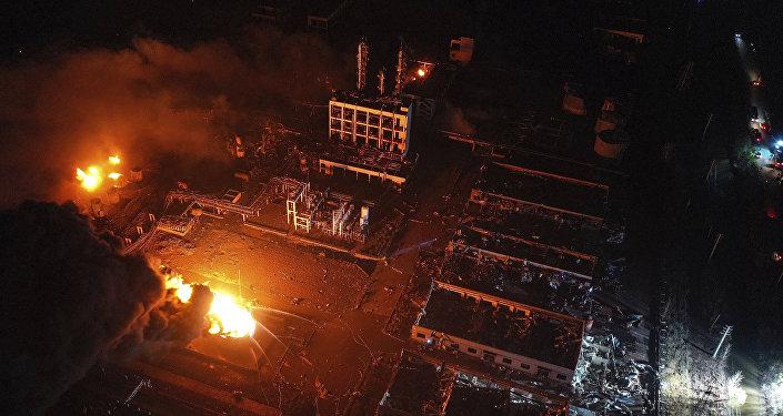 江苏盐城化工厂爆炸事件