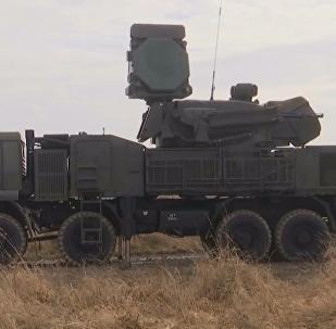 俄「鎧甲-S1」防空系統進行實彈演練