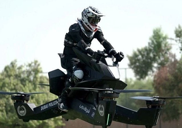 飞行摩托车HoverBike S3
