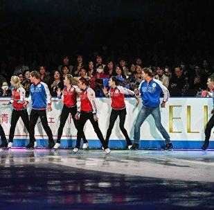俄羅斯隊在花滑世錦賽獎牌總數上居第一位