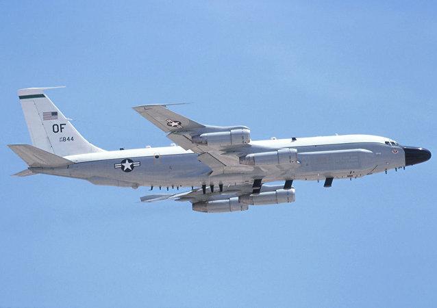 美軍機在俄邊界偵察飛行