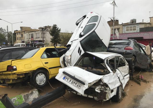 伊朗西南部地區洪災受傷人數升至68人