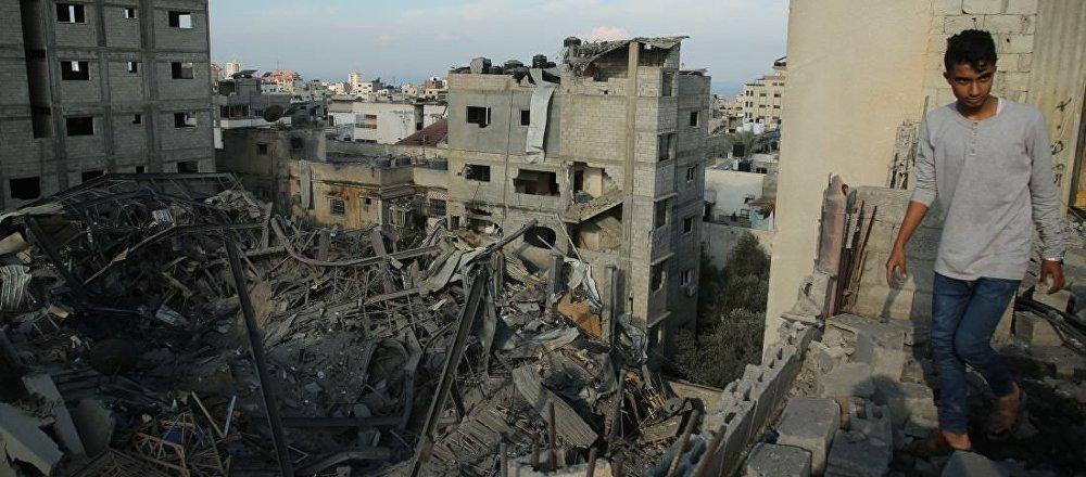 以軍空襲加沙地帶