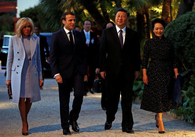 法国总统马克龙:欧盟和中国将签订产品地理标志保护协议
