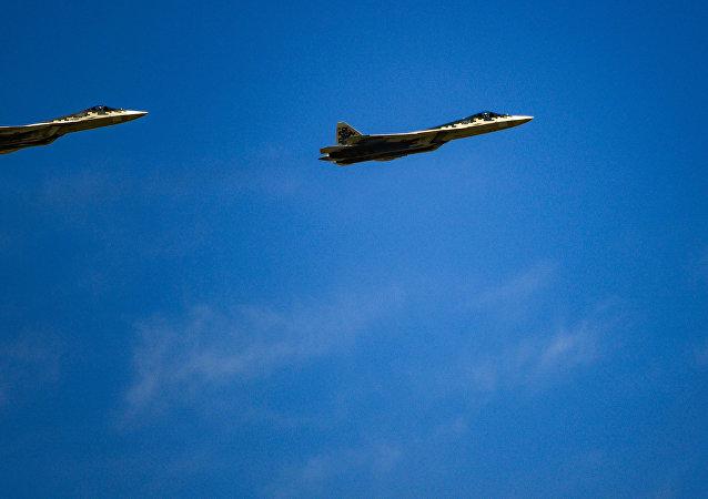 苏-57战机将在莫斯科航展期间首次向外方展出
