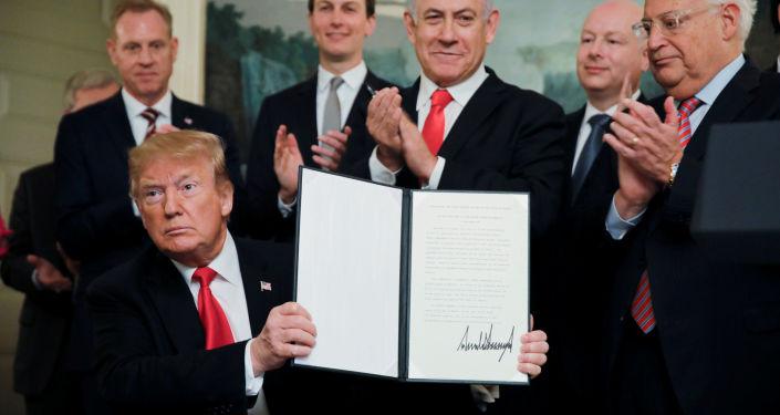 專家:特朗普承認戈蘭高地為以色列領土的決定是冒險行為